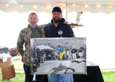 Gilbert Brown at the Hunt 4 Life Foundation 2020 Sportsman's Charity Hunt