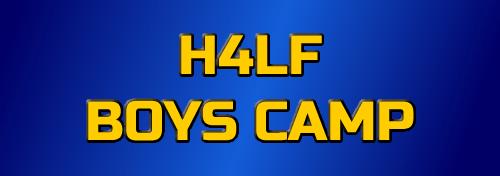 H4LF Boys Camp logo
